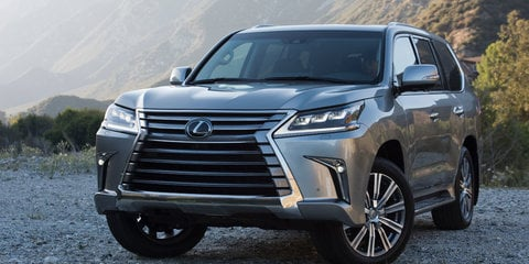 2016 Lexus LX570 revealed