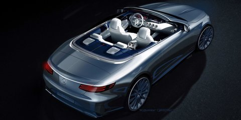 2016 Mercedes-Benz S-Class Cabriolet previewed for September debut