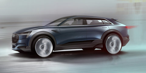 Audi 'Q6' e-tron quattro concept sketched out for Frankfurt - video