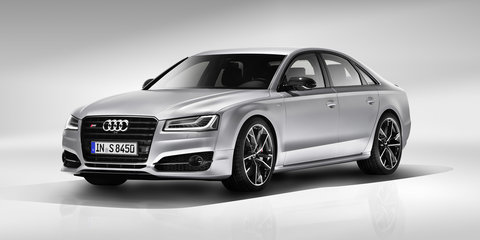 Audi S8 Plus unveiled