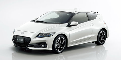 Honda CR-Z facelift unveiled in Japan