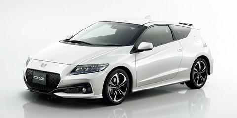 Honda CR-Z facelift unveiled in Japan