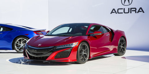 Honda NSX V6 uses Cosworth block and heads