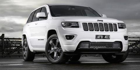 Jeep Cherokee, Grand Cherokee Blackhawk specials launched