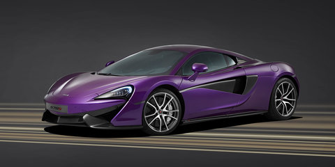 McLaren 570S: one-off purple special to be displayed at Pebble Beach
