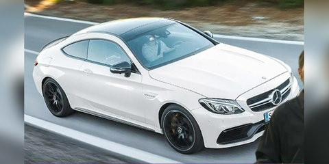2016 Mercedes-AMG C63 S coupe leaked in production trim