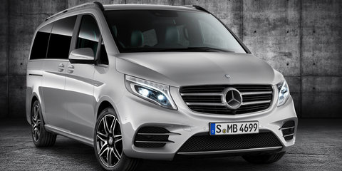 Mercedes-Benz V-Class AMG Line revealed