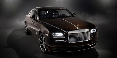 Rolls-Royce Wraith Inspired by Music unveiled