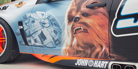 Holden Racing Team enlists Chewbacca to help with Bathurst
