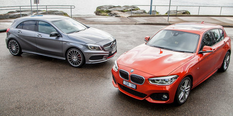 2015 BMW 125i v Mercedes-Benz A250 Comparison Review