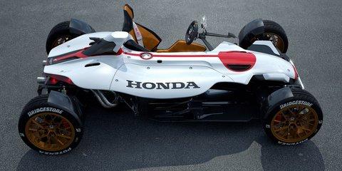 Honda Project 2&4 concept revealed as MotoGP-powered open-wheeler