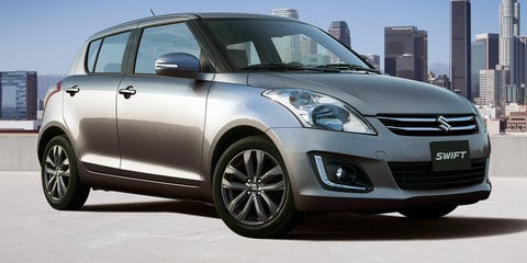 2015 Suzuki Swift pricing and specifications