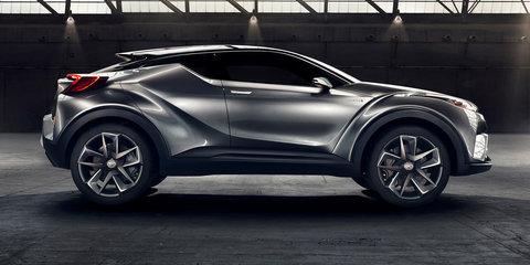 Toyota C-HR SUV concept sequel revealed in Frankfurt: Final version due for Geneva show