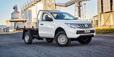 2016 Mitsubishi Triton: 4x2 petrol base model added to the range, plus new dual-cab variants