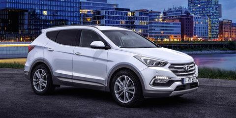 2016 Hyundai Santa Fe gets new safety tech and design tweaks