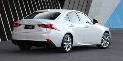 2016 Lexus IS pricing and specifications