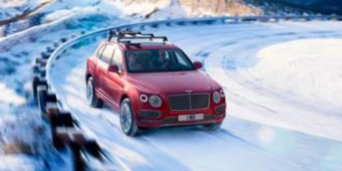 Bentley Bentayga revealed, late 2016 debut likely for Australia