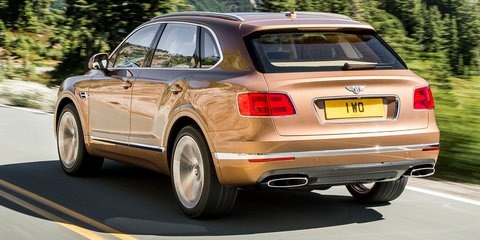 Bentley Bentayga: $420,600 starting price for Australia