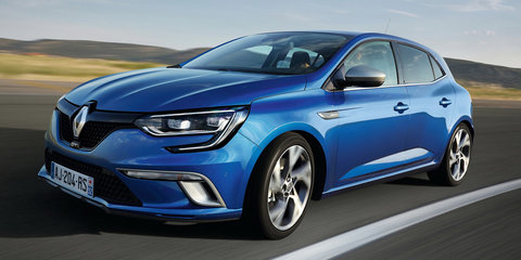 2016 Renault Megane hatch premieres, led by 152kW GT for now