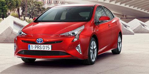 2016 Toyota Prius revealed, Australian launch set for early next year