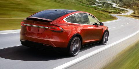 Tesla Model X falcon wing doors use ultrasonic sensors to operate in tight spaces