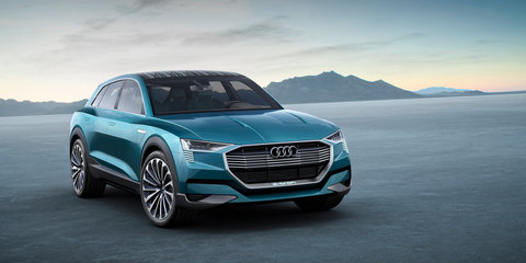 Audi e-tron quattro SUV revealed for Frankfurt: Production model due in 2018