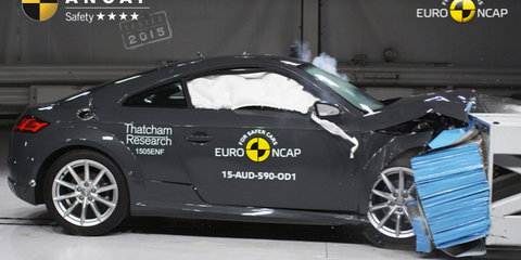 ANCAP crash test results: Audi TT scores four stars, Mazda 2 and CX-3 get five