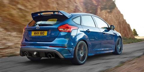2016 Ford Focus RS quicker than Golf R, S3, WRX STI
