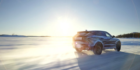 Jaguar F-Pace: Four engines and class-leading tech for Jaguar's first SUV