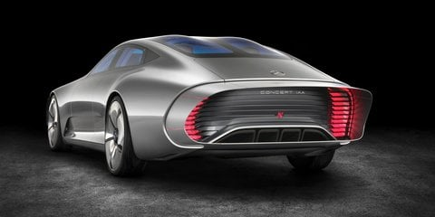 Mercedes-Benz Concept IAA revealed: Shape-shifting four-door coupe debuts ahead of Frankfurt motor show