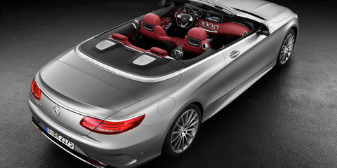 Mercedes-Benz S-Class Cabriolet revealed - UPDATE