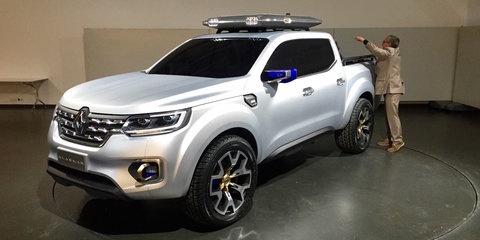 Renault Alaskan ute: Up close and personal with the French pick-up concept