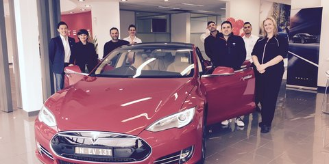 Tesla Model X Founder Series won by Sydney mum