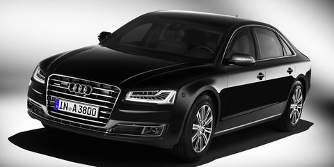 2016 Audi A8L Security upgraded to VR9 standard