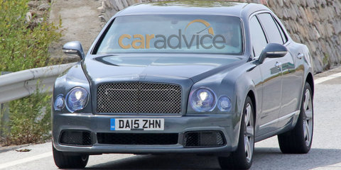 2016 Bentley Mulsanne facelift and LWB spy photos