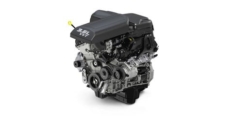 Fiat Chrysler reveals upgraded 3.6-litre Pentastar V6, Jeep Grand Cherokee first recipient