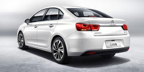 New Citroen C4 sedan unveiled in China