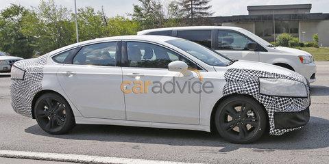 Ford Fusion/Mondeo ST spy photos