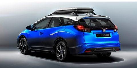 Honda Civic Tourer Active Life concept unveiled