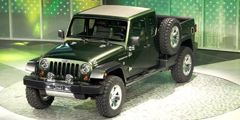 Jeep Wrangler ute to debut in 2017 or 2018 - report