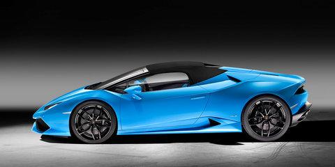 Lamborghini Huracan LP610-4 Spyder unveiled