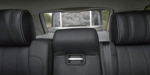 Land Rover Transparent Trailer, Cargo Sense systems erase blind spots, monitor conditions