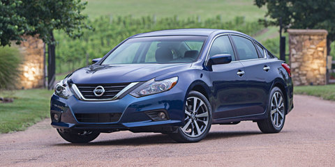 Nissan Altima facelift unveiled in the USA