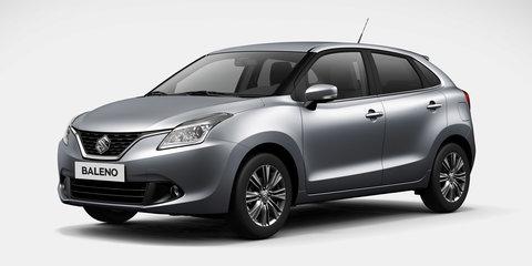 2016 Suzuki Baleno front end revealed