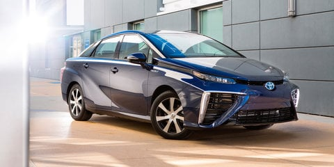 Toyota Mirai hydrogen fuel cell vehicle headed to Australia next month