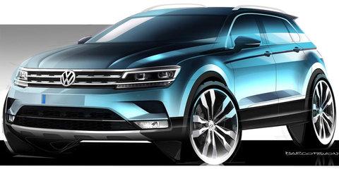 2016 Volkswagen Tiguan sketches leaked