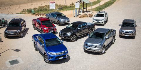 Ute comparison: Ford Ranger v Holden Colorado v Isuzu D-MAX v Mazda BT-50 v Mitsubishi Triton v Nissan Navara v Toyota HiLux v Volkswagen Amarok