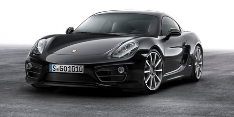 2015 Porsche Cayman Black Edition on sale in Australia: Style-focused special lands