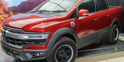 Proton Pick-Up ute concept revealed in Malaysia