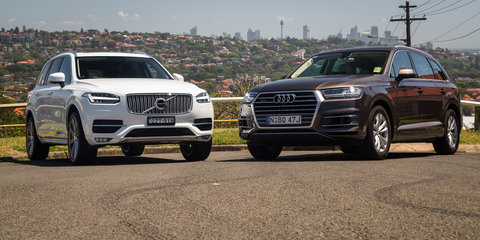 Audi Q7 3.0TDI v Volvo XC90 D5 Inscription : Comparison review